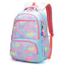 Children School Bags For Girls High Quality Children Backpack In Primary School Backpacks schoolbag kids Mochila Infantil Zip