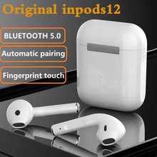 Bluetooth Earphones inPods 12 TWS Wireless Sport charging Headset Touc With Tws For iPhone Xiaomi Huawei Samsung Bluetooth 5.0