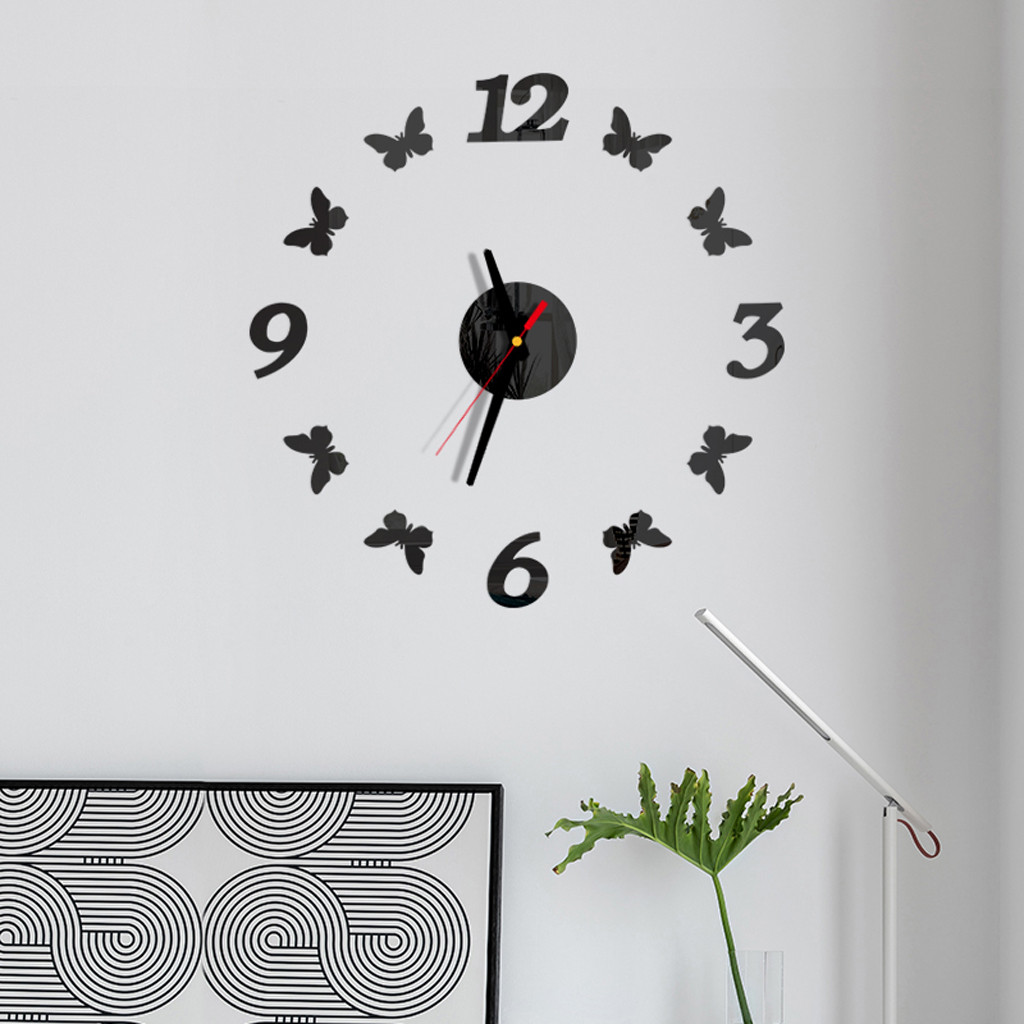 Acrylic Clock Acrylic Modern Diy Wall Clock 3d Mirror Small Size Surface Sticker Home Office Decor Large Wall Clock Special Offer D6886a Cicig