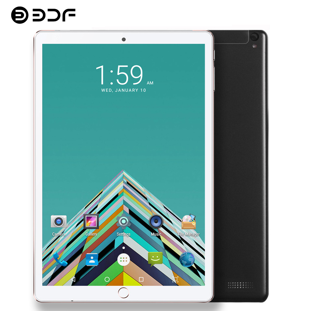 BDF 2020 Tablet 10.1 Inch BDF Tablet Pc Android 7.0 1GB/32GB 2G 3G Phone Call Sim Card Mini Pad Pc 1280 *800 IPS LCD 5Mp Laptop
