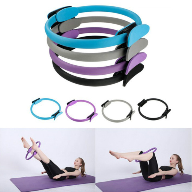 39cm Yoga Circle Pilates Ring Lightweight Portable Non-slip Men Women Gym Fitness Workout Sports Keep Fit Equipment 1