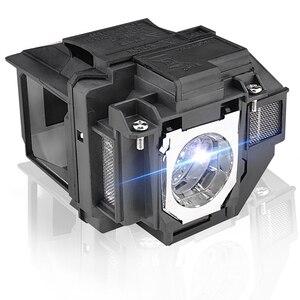 Image 5 - استبدال العارض مصباح EX9210 EX9220 EX3260 EX5260 EX7260 PowerLite 1266 1286 ل ELPLP96/V13H010L96 مع الإسكان