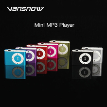 цена на Vansnow 2020 Mini Portable MP3 Music Player Mini Portable Clip MP3 Music Player Waterproof Sport Mini Clip Mp3 Music Player