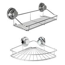 الحمام الجرف تخزين الرف رف من الفولاذ المقاوم للصدأ لكمة خالية شركة دش المطبخ المجهزة جدار تخزين منظم الرف