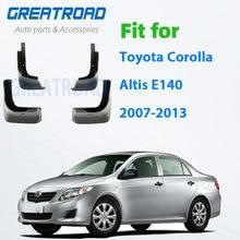 Брызговики для Toyota Corolla Altis E140 2007-2013, брызговики