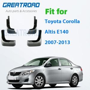 Mud Flaps For Toyota Corolla Altis E140 2007-2013 Mudflaps Splash Guards Mud Flap Front Rear Mudguards Fender 2008 2009 2010