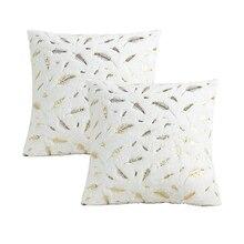 Decorative Pillows Super Soft Fur Feather Plush Cushion Cover Pillow Case Throw Pillow Cover Seat Sofa Bed Decoration Pillowcases geometrics triangles decorative super soft household pillow case
