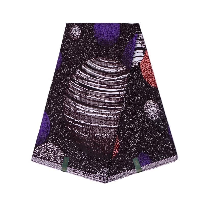 Hot Sales 2020 New Kwanzaa Print Cloth Material 6Yards\lot African Wax Fabric Real Dutch Wax