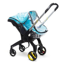 4 in 1 car seat stroller accessories rain cover for doona/foofoo car seat bassinet sunshade mosquito net raincoat change kits(China)