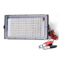 Reflector LED para viajes al aire libre, proyector de luz impermeable IP65, iluminación de paisaje, 100W, 12V de CC