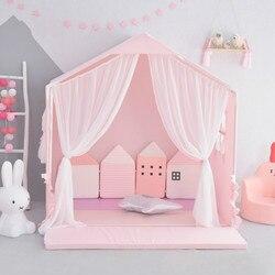 Kinder Zelt Zimmer Spiel mädchens Schlaf Zimmer Spielzeug Haus Prinzessin Kinder Betten Unter 12 Jahre Alt Kinder Möbel