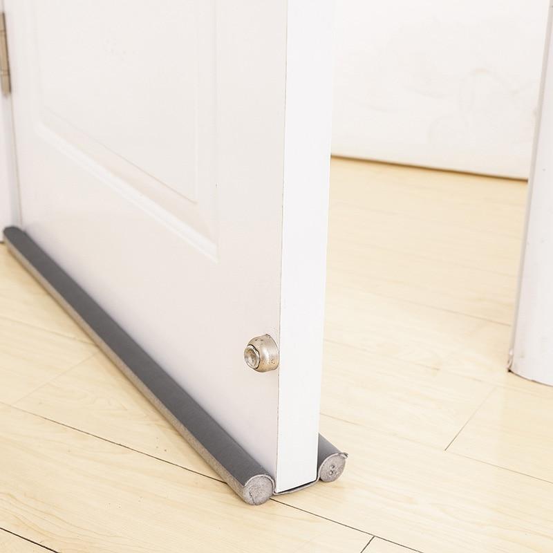 93cm Sponge Door Bottom Sealing Strip Security Wooden Tape Door And Window Seal Soundproofing Studio Window Glass Seal Strip