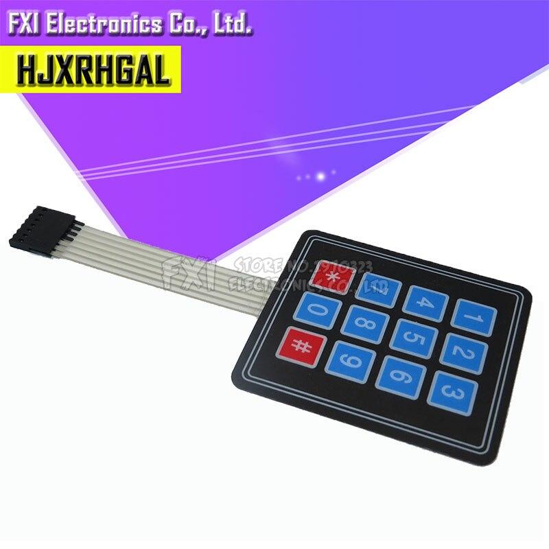 1pcs 12 Key Membrane Switch Keypad 4x3 4 3 Matrix Array Matrix keyboard new