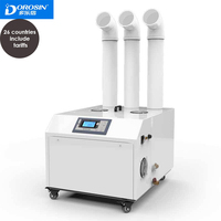 DOROSIN Industrial Humidifier 220V 240V Ultrasonic Commercial Air Humidifier Intelligent Humidity Control Timing Mist Maker