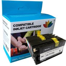 цена на 4 Compatible ink Cartridge for hp 711 XL BK C M Y for HP DesignJet T520 T120 For HP T 120 / 520 inkjet Printer