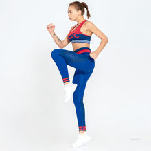 Workout Kleidung Für Frauen Gym Yoga Set Fitness Kleidung Sport Kleidung 2 Piece Turnhalle Sets Push-Up-Leggings Und Bhs sport Tragen(China)