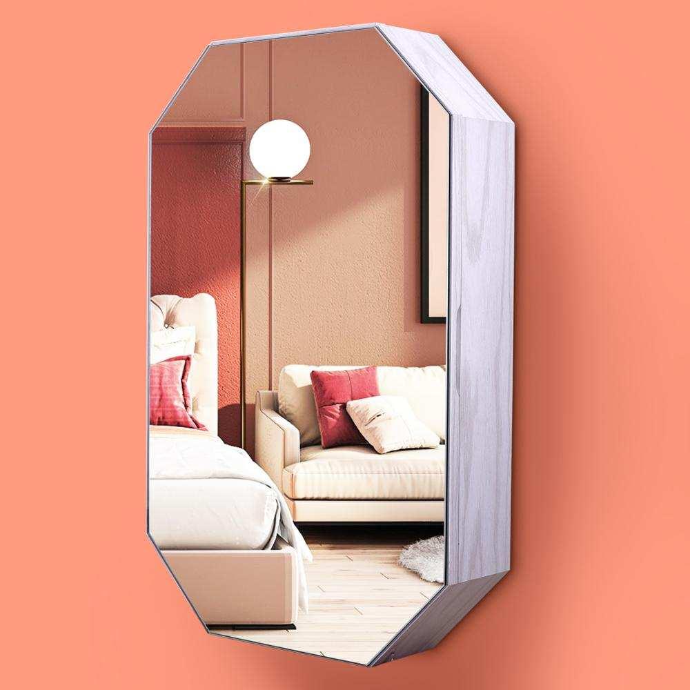 Mirror Cabinet Makeup-Mirror-Decorative Storage Jewelry Kingyee Cosmetic Photo-Frame