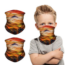 Scarf Face-Mask Protectio-Neck Windproof Print Children Sagace Sunscreen Selling Selling