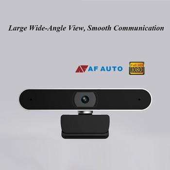 Web cam 1080P USB Digital Full HD Video Camera Auto Focusing Webcam Meeting Video with Microphone Video Call Computer Mini cam 2
