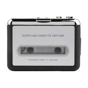 Image 4 - 1 pezzo USB Cassette Tape To MP3 PC Convertitore Stereo Audio Player
