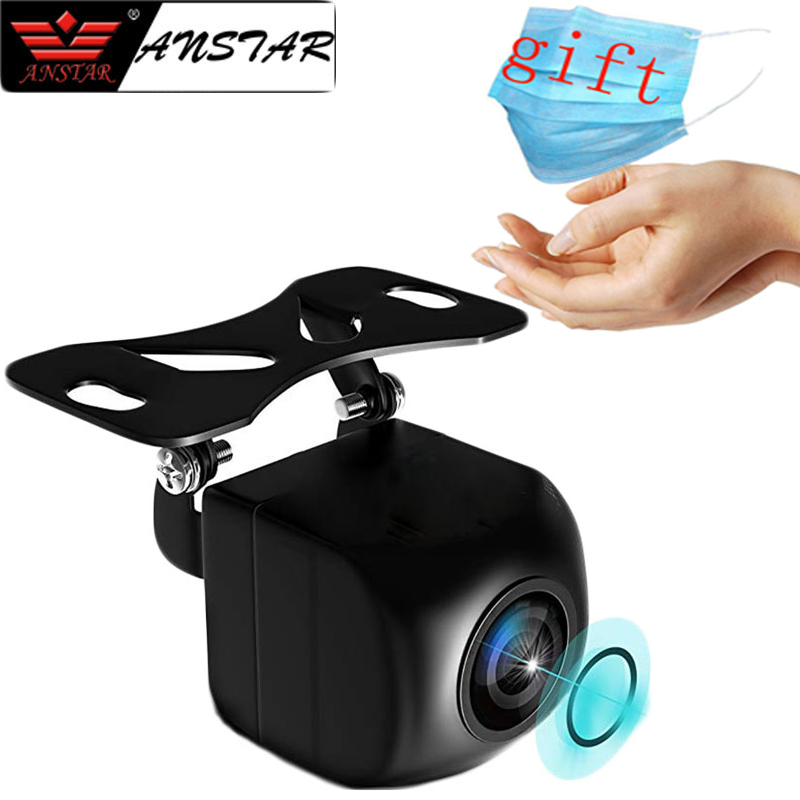 12V Rear View Camera Fish Eye Wide Angle Night Vision Waterproof Backup Camera 4 Pin 5Pin For Android Mirror Parking Dash Cam