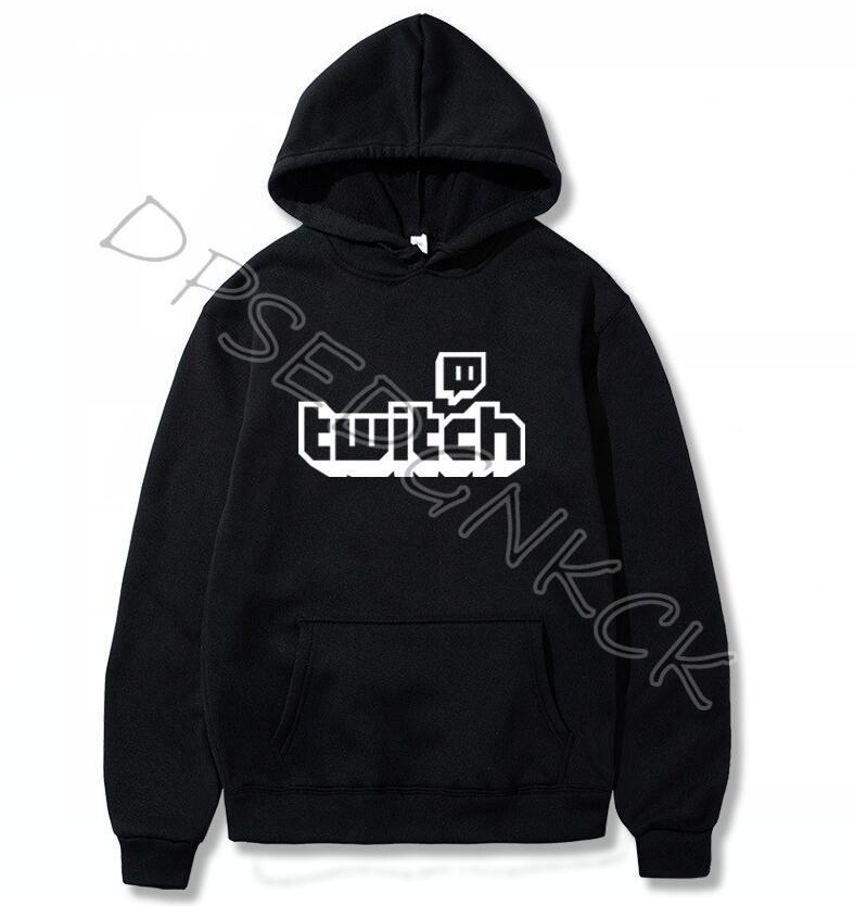 Twitch TV Hoodies- Purple Gaming Top Gamer Fathers Day Fan Gifts Sweatshirts Pride Men Women Sweatshirt Tops A52