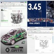 2020 quente reparação de automóveis macios-ware vívido 10.2 soft-ware auto--- dados 3.45 da europa informação automóvel -- dados soft-ware