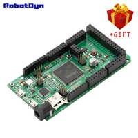 Debido XPRO ARM Cortex ATSAM3X8EA-AU 98/O SD lector RGB LED ESP-01 hembra