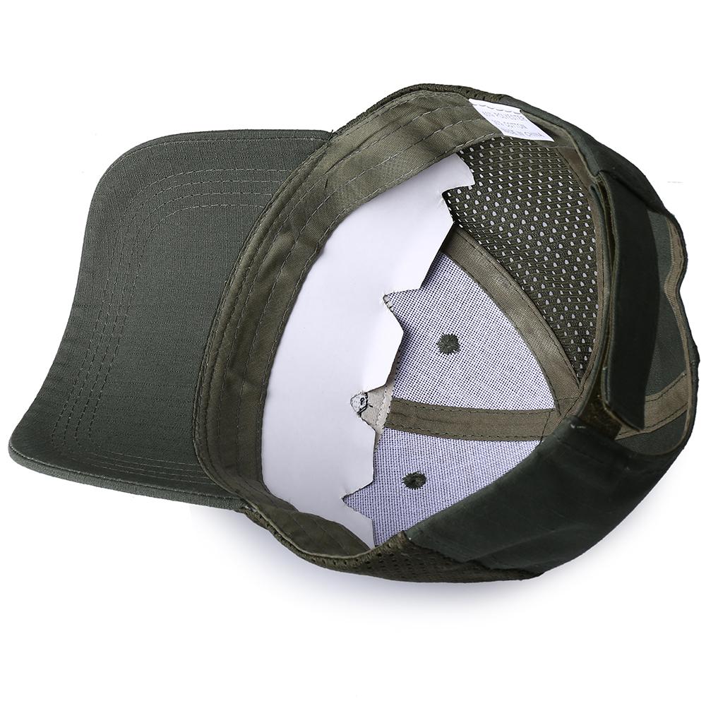 Skull Tactical Military Airsoft Cap Adjustable Breathable Sun Visor Trucker Hat Mesh Hunting Hiking Baseball Skeleton Snapback 40