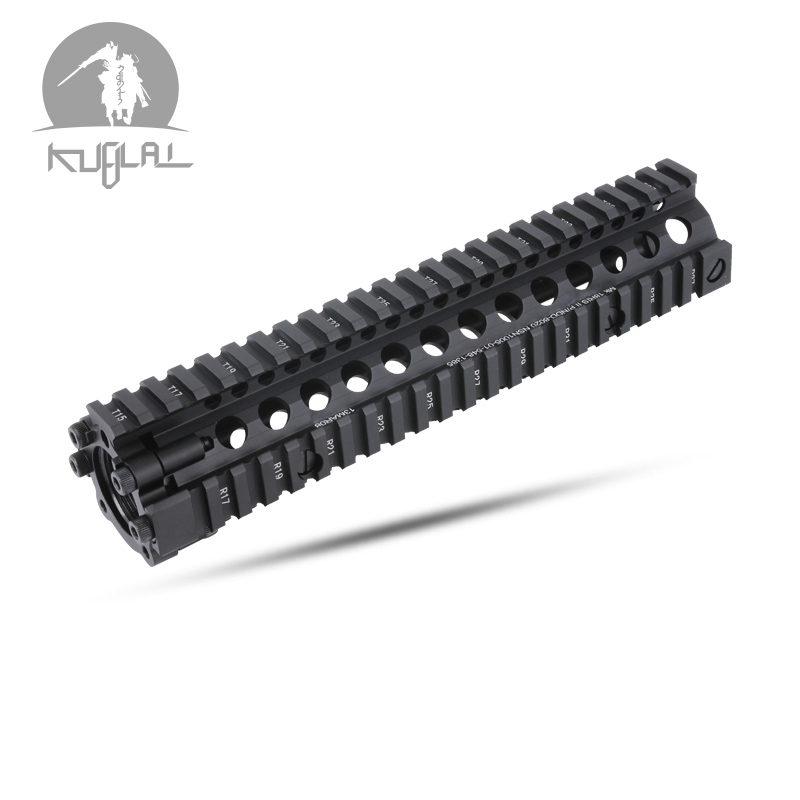 "MK18 RISII 7""9""12"" Airsoft Handguard Tactical Rail Black and CB Color In Available(China)"