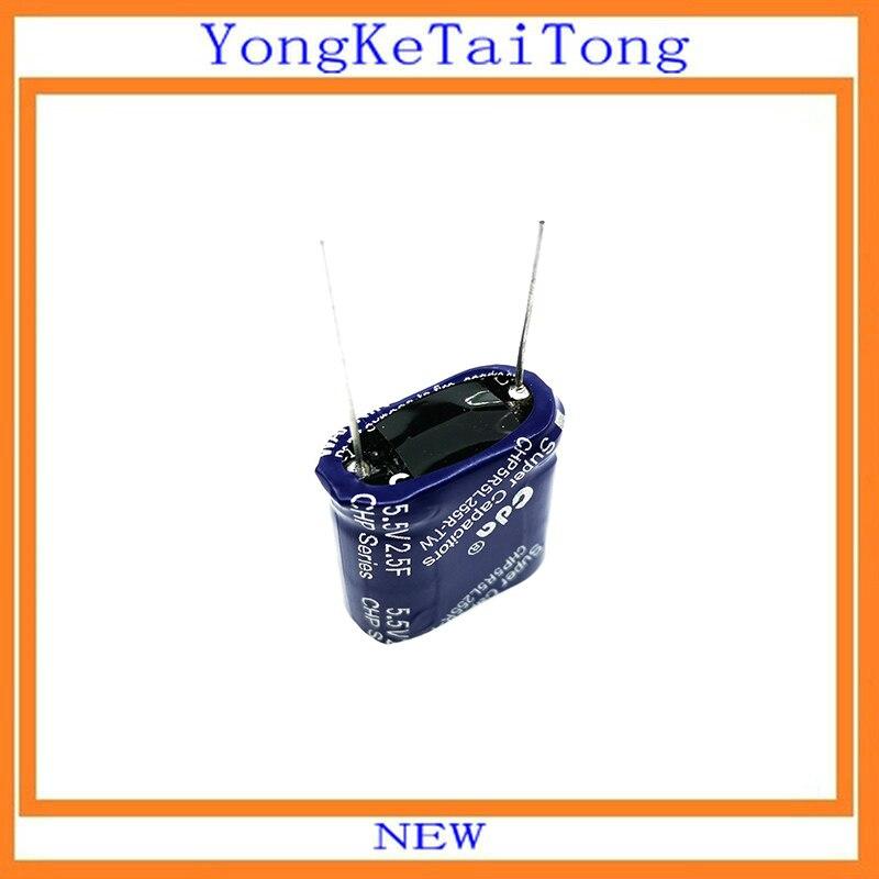 5.5 V 1 F C Tipo supercapacitor FARAD Capacitor 5.5 V 1.0 F Tipo C Nuevo 5 un
