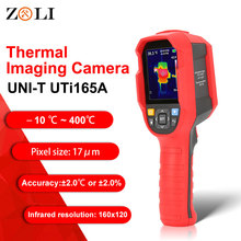 UNI T UTi165A HD Infrared Thermal Imager Camera Floor Heating Detector Temperature Range  10°C ~400°C 2.8 inch TFT screen