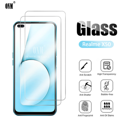 На Алиэкспресс купить стекло для смартфона 2pcs x50 tempered glass for oppo realme x50 pro 5g screen protector realme x50 2020 protective glass film