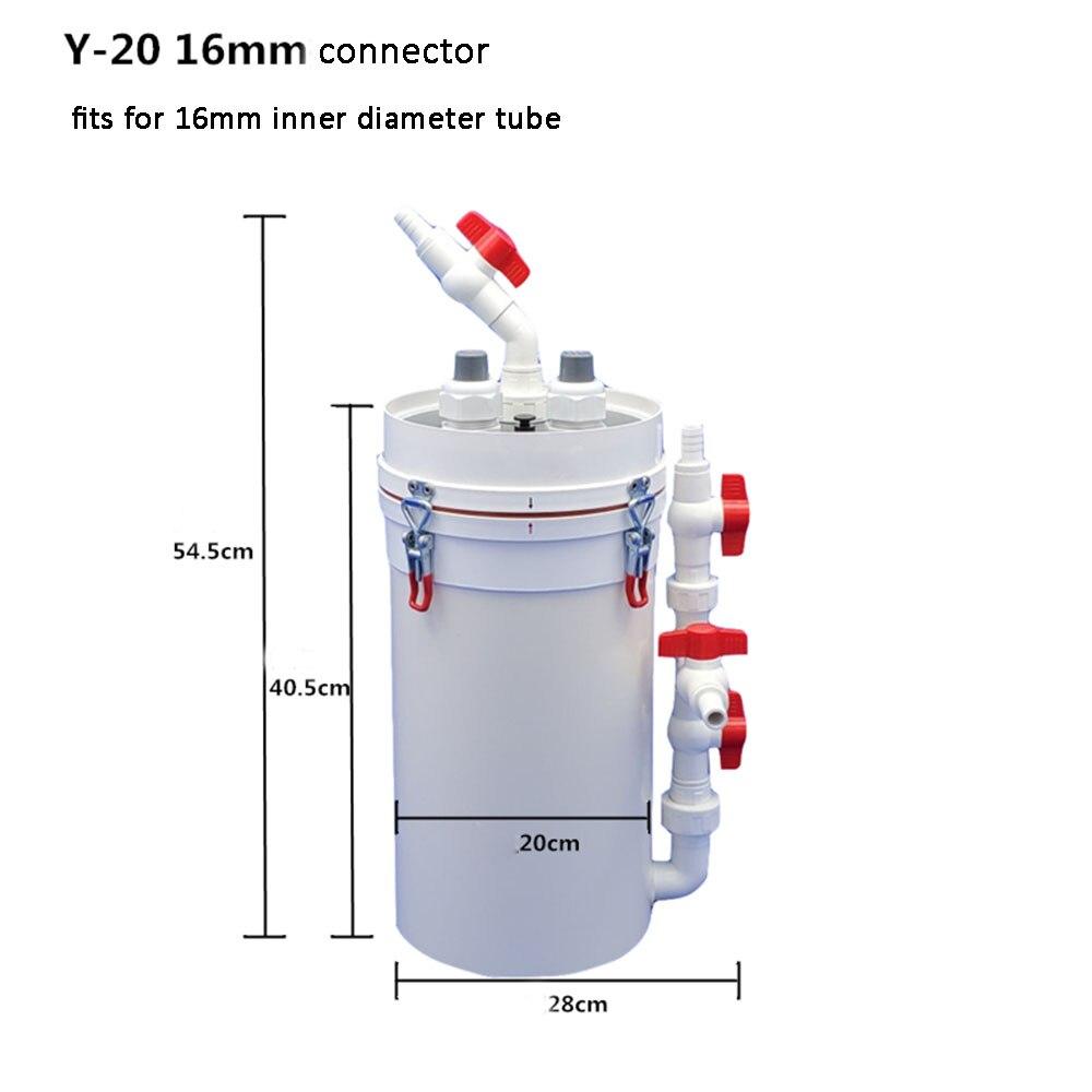 Pre Filter for Aquarium Fish Tank External Filter Barrel Jar External Barrel Filter Sterilization Water Circulating Sterilizer