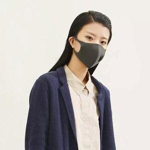 Image 4 - В наличии Быстрая доставка Youpin Smartmi фильтр Маска блок 96% PM 2,5 вентиляционный клапан долговечный ТПУ материал маска против смога