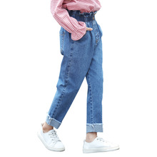Girls Jeans 2019 New Ripped for Kids Leggings Cotton Casual Children Clothes Trousers 4 6 8 10 12 Year