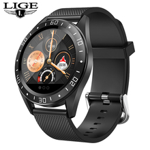 LIGE new smart watch men sport watch women waterpr