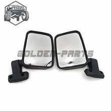 KUOQIAN Automobile Spare Parts Left And Right Rear Mirror Suit For HISUN 500 UTV Spare Parts 7030-260110 7030-260120 2PCS 1PAIR стоимость