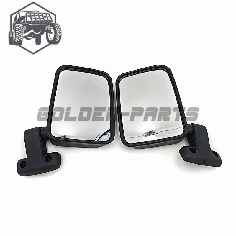KUOQIAN Automobile Spare Parts Left And Right Rear Mirror Suit For <font><b>HISUN</b></font> <font><b>500</b></font> <font><b>UTV</b></font> Spare Parts 7030-260110 7030-260120 2PCS 1PAIR image