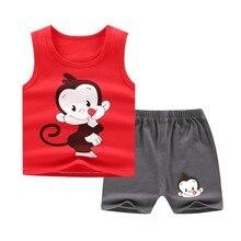 Tracksuit Toddler Girls Baby-Girl 2pcs-Set Shorts Outfit Newborn Kids Summer Child 6-24months
