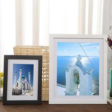 Wall Pictures Frame A4 A3 Wood Photo Frame For Photo Paintings Fashion Modern Wall Decoration tanie tanio Fonseca Drewna Nowoczesne Prostokąt zm20200321-02 Pojedyncze ramki Malowanie ramki