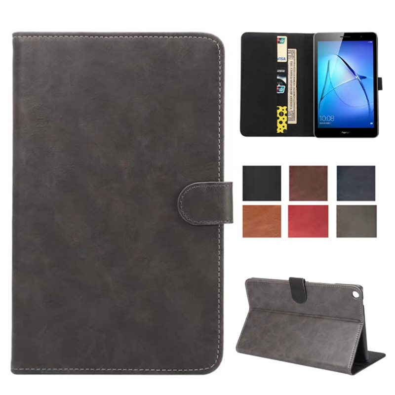 Retro PU Leather Skin Luxury Case For Huawei Mediapad T3 8.0\