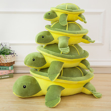 40-50cm high quality plush turtle toy cute pillow filled girl gift childrens toys WJ029