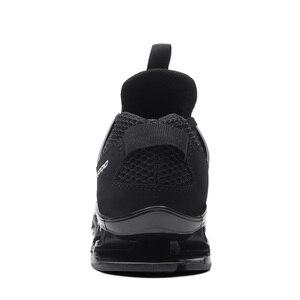 Image 4 - Модные мужские кроссовки Heidsy размера плюс 48, повседневная обувь, сетчатые мужские туфли на шнуровке, легкие дышащие мужские кроссовки для тренировок