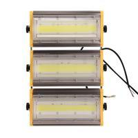 Módulo 150W Flood Luz Cool White 220V IP65 Pátio Iluminação Refletor Led Holofotes Levou Holofotes Ao Ar Livre À Prova D' Água