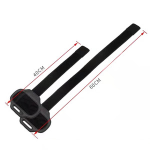 Image 2 - 2pcs/lot Adjustable Elastic Leg Strap Sport Band for Nintend Switch Joy con NS For Ring Fit Adventure Game for Kids And Adults