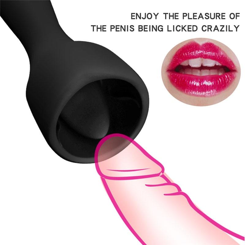 BDSM Bondage Restraints Flirting Massage Oral Licking Vibrating Clitoris Stimulator Adult Sex Toys For Woman Masturbation Games