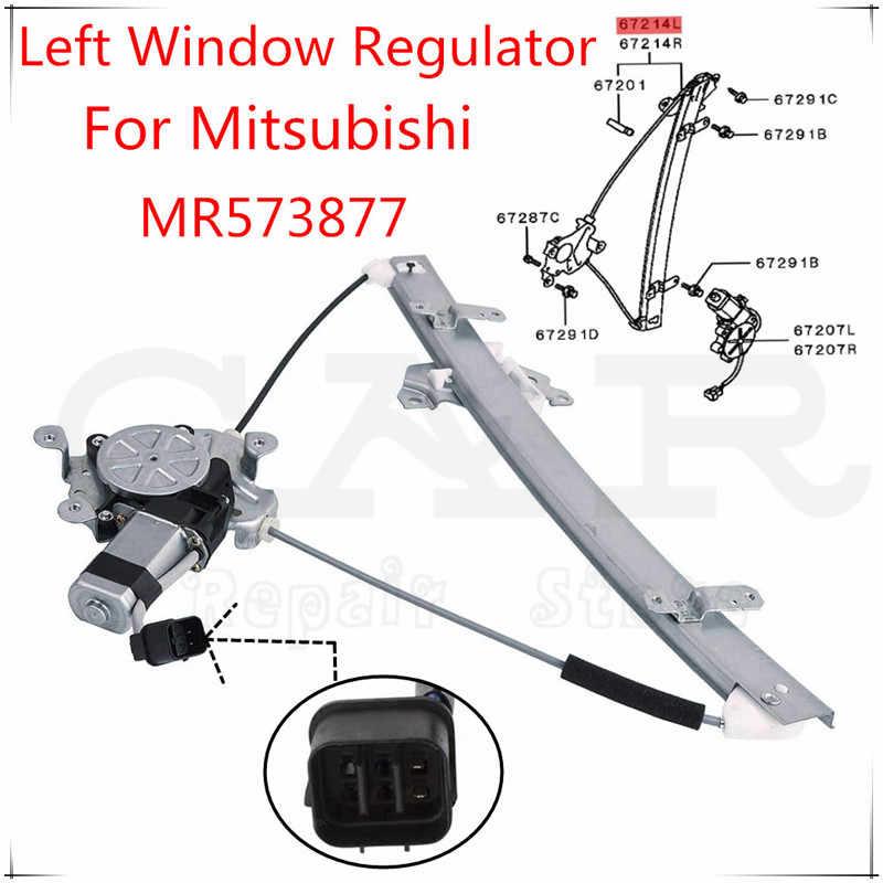 6Y2 RICH CAR 6Y1837461 Regulador de Ventana Delantera Izquierda para Fabia