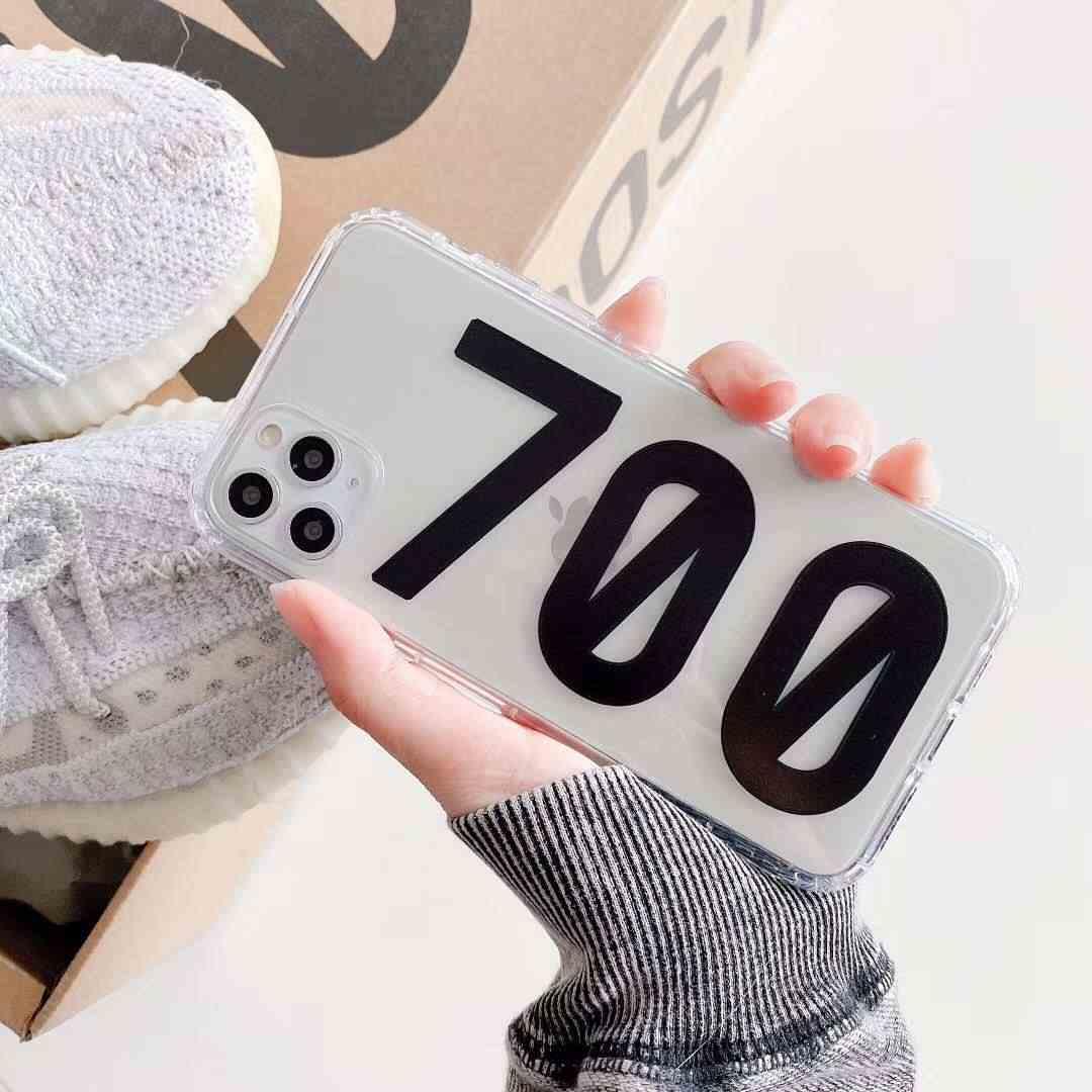 حار فاخر ماركة أحذية رياضية صندوق أحذية ثلاثية الأبعاد غطاء سيليكون حقيبة لهاتف أي فون 11 برو X XS XR ماكس 7 8 زائد دفعة 350 700 V2 الهاتف coque