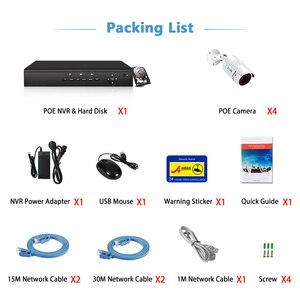 Image 5 - Zoohi H.265 3MP System kamer bezpieczeństwa zewnętrzna IR noktowizyjna kamera telewizji przemysłowej zestaw do organizacji kamera POE IP66 zdalna aplikacja podłącz